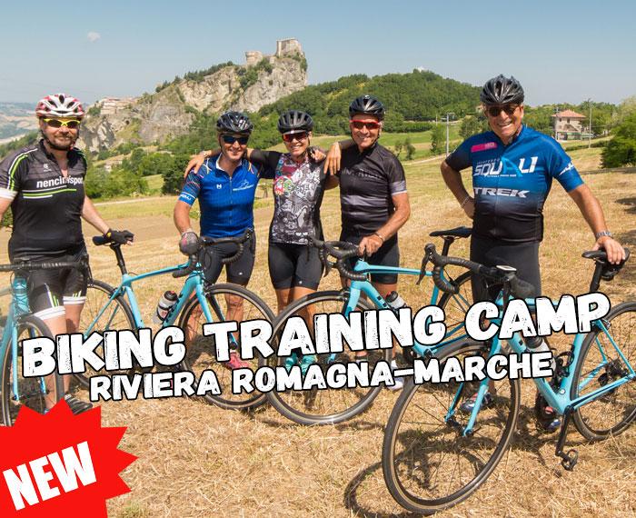 Nuovo Training Camp per ciclisti
